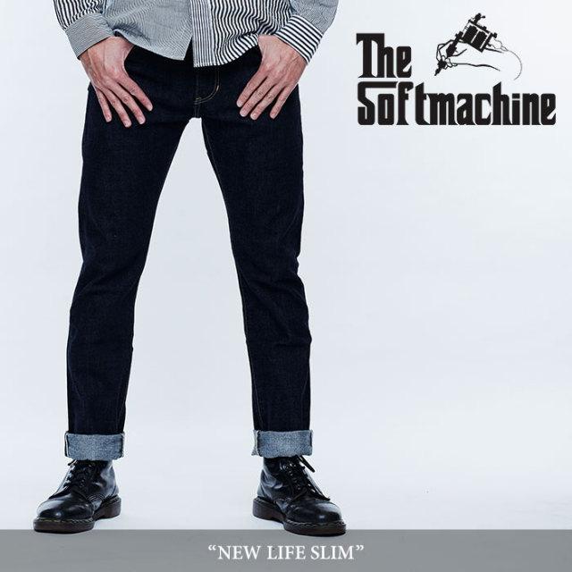 SOFTMACHINE(ソフトマシーン) NEW LIFE SLIM(DENIM PANTS) 【2018 SUMMER VACATION 先行予約】 【キャンセル不可】【送料無料】