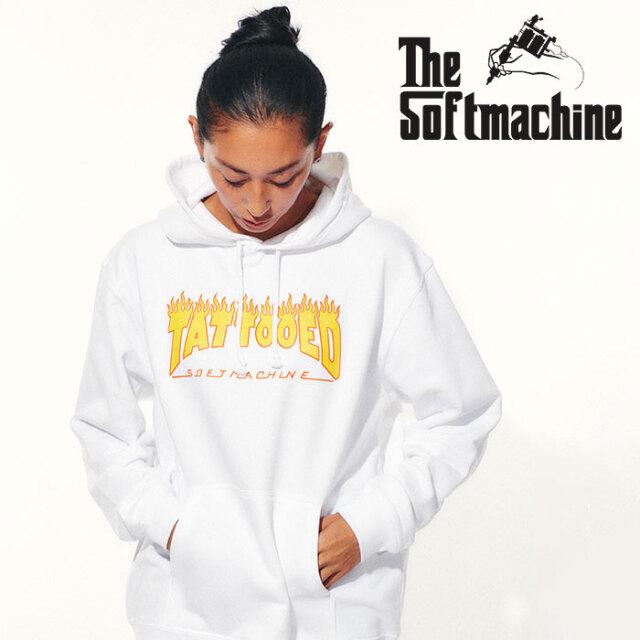 SOFTMACHINE(ソフトマシーン) NEW SKOOL HOODED 【フーディー パーカー】【ブラック ホワイト グレー タトゥー】【2021 SPRING&SUM