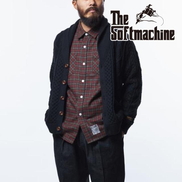 SOFTMACHINE (ソフトマシーン)  NORTHERN SHIRTS 【シャツ 長袖】【ブラウン グリーン タトゥー】【2021 AUTUMN&WINTER 先行予約