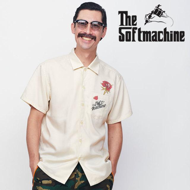 SOFTMACHINE(ソフトマシーン) OUT BLOOM SHIRTS 【ショートスリーブシャツ】【レーヨン タトゥー】【送料無料】 【2020SPRING&SUM