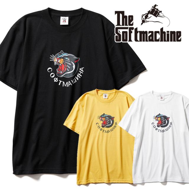 SOFTMACHINE(ソフトマシーン) PANTERA-T 【Tシャツ 半袖】【ホワイト ブラック イエロー タトゥー】【2021 AUTUMN&WINTER 先行予