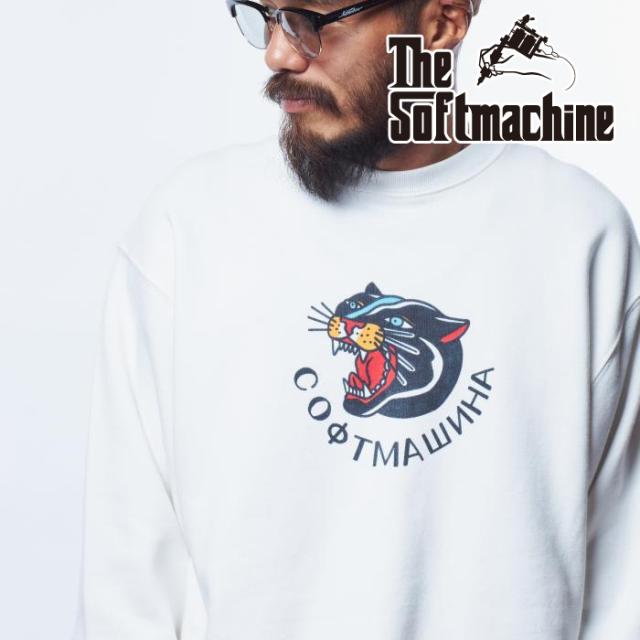 SOFTMACHINE (ソフトマシーン)  PANTERA SWEAT 【スウェット】【ブラック ホワイト グレー タトゥー】【2021 AUTUMN&WINTER新作】