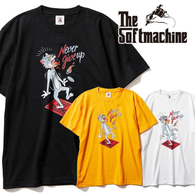 SOFTMACHINE (ソフトマシーン)   PAY BACK-T 【Tシャツ 半袖】【ホワイト ブラック イエロー タトゥー】【2021 AUTUMN&WINTER 新