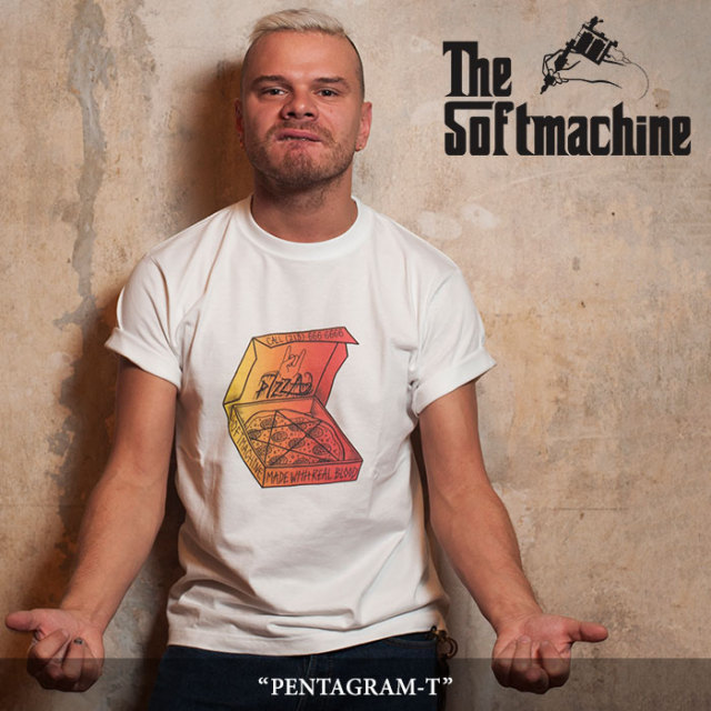 【SALE】 SOFTMACHINE(ソフトマシーン) PENTAGRAM-T (T-SHIRTS) 【2018SPRING/SUMMER新作】 【即発送可能】 【SOFTMACHINE Tシ