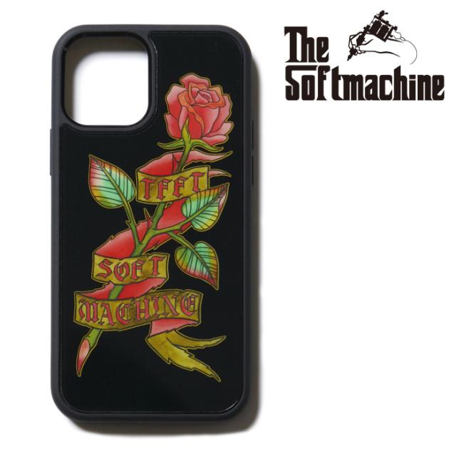 SOFTMACHINE (ソフトマシーン)  ROSE iPhone CASE 【アイフォンケース】【ブラック タトゥー】【2021 SUMMERVACATION新作】