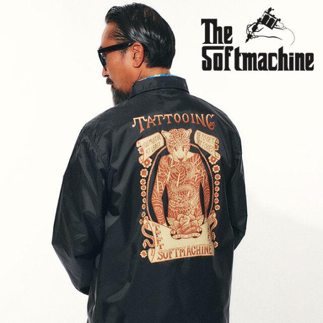 SOFTMACHINE(ソフトマシーン) SHOW TIME JK(COACH JK) 【コーチジャケット】【ブラック タトゥー】【2021 SPRING&SUMMER先行予約】
