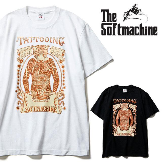 SOFTMACHINE(ソフトマシーン) SHOW TIME-T 【Tシャツ 半袖】【ブラック ホワイト タトゥー】【2021 SPRING&SUMMER先行予約】【キャ