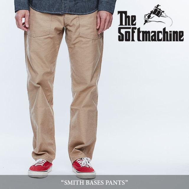 SOFTMACHINE(ソフトマシーン) SMITH BASES PANTS(BAKER PANTS) 【2018SPRING/SUMMER先行予約】 【キャンセル不可】【送料無料】
