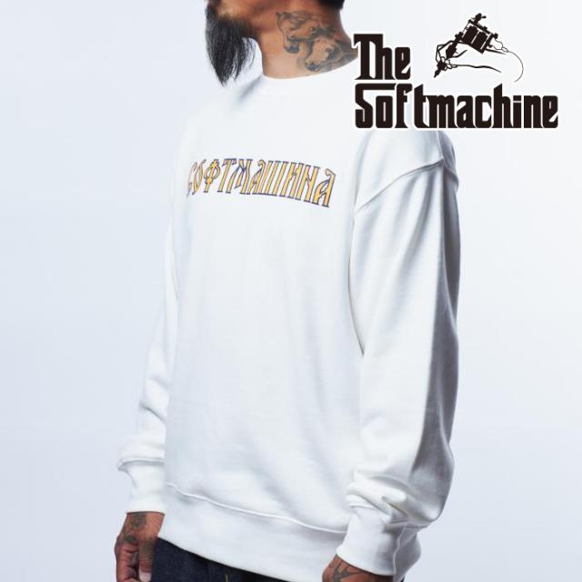 SOFTMACHINE (ソフトマシーン)  St.PETERSBURG SWEAT 【スウェット】【ブラック ホワイト グレー タトゥー】【2021 AUTUMN&WINTER