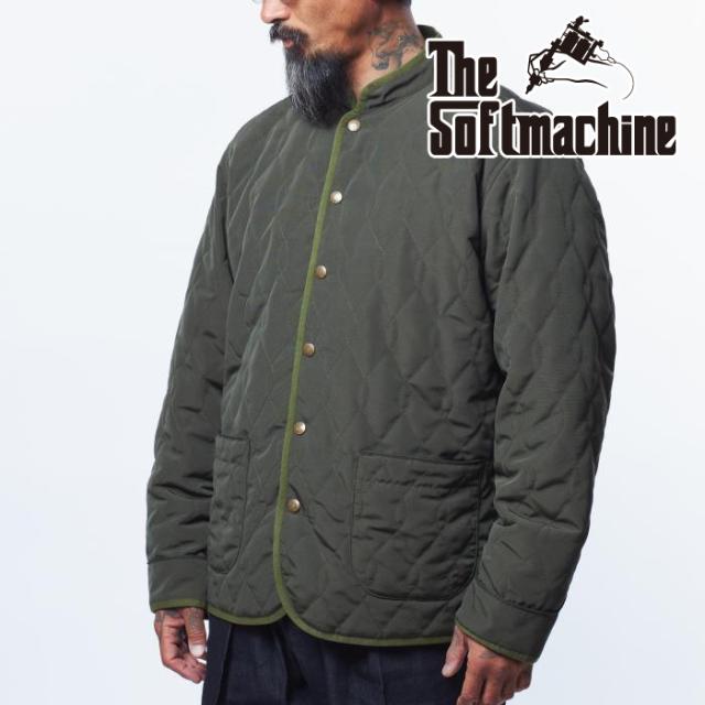 SOFTMACHINE(ソフトマシーン) TASH JK 【キルティングジャケット】【ブラック オリーブ タトゥー】【2021 AUTUMN&WINTER 先行予約