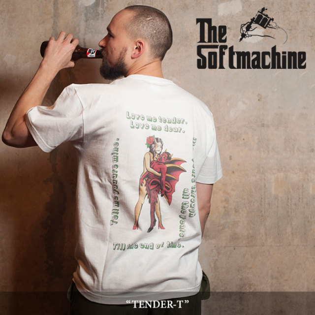 【SALE】 SOFTMACHINE(ソフトマシーン) TENDER-T (T-SHIRTS) 【2018SPRING/SUMMER新作】 【即発送可能】 【SOFTMACHINE Tシャツ