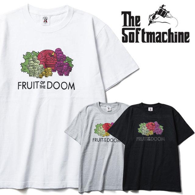 SOFTMACHINE(ソフトマシーン) TOXIN-T 【Tシャツ】【ホワイト ブラック グレー タトゥー】【2020SPRING&SUMMER新作】