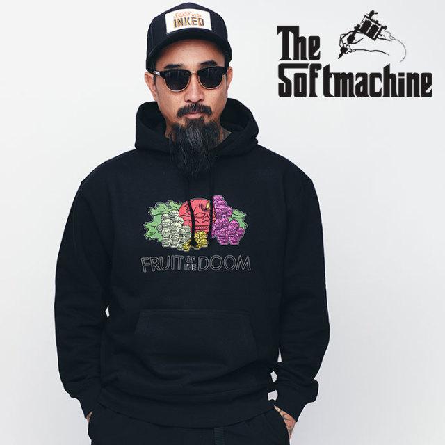 SOFTMACHINE(ソフトマシーン) TOXIN HOODED 【スウェットパーカー】【ホワイト ブラック グレー タトゥー】【送料無料】【2020SPRI