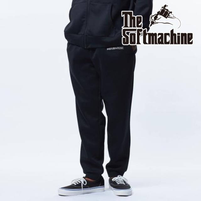SOFTMACHINE(ソフトマシーン) VATOS FLEECE PANTS 【パンツ】【ブラック グレー タトゥー】【2021 AUTUMN&WINTER 先行予約】【キ
