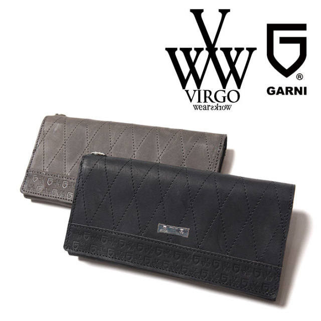 VIRGO ヴァルゴ バルゴ VIRGOwearworks×GARNI LABYRINTH LONG WALLET 【2018-19HOLIDAY/SPRING新作】 【VG-CB-75】【GARNI ガル