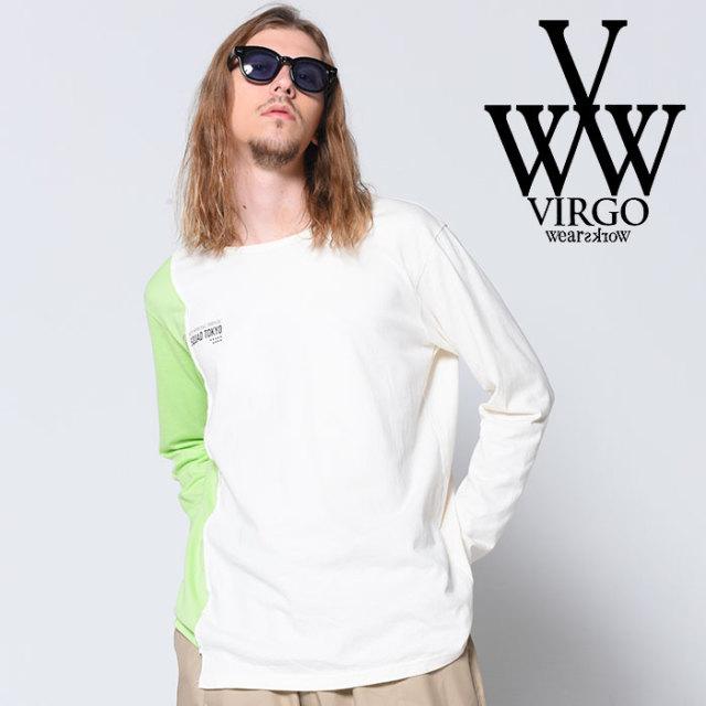 VIRGO ヴァルゴ バルゴ 2/8 CHANGE LST 【2018-19HOLIDAY/SPRING先行予約】 【VG-CUT-378】【キャンセル不可】【カットソー】