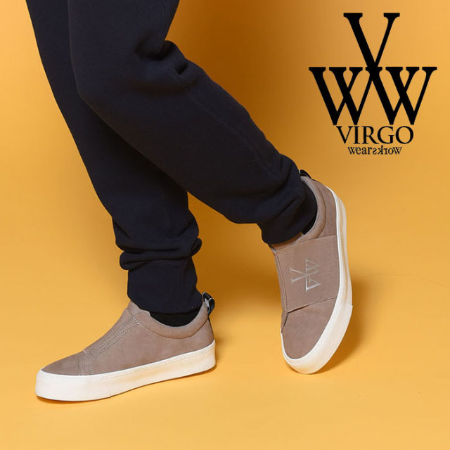 VIRGO(ヴァルゴ) WIND RUBBER BELT SNEAKER 【2018-19HOLIDAY/SPRING新作】 【VG-GD-575】【スニーカー】