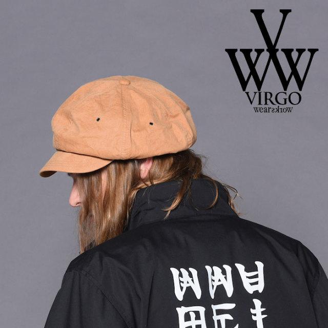 VIRGO(ヴァルゴ) IKHOK CASKET CAP 【2018-19HOLIDAY/SPRING新作】 【VG-GD-579】【キャスケット】