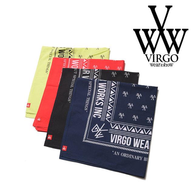 VIRGO(ヴァルゴ) VGW BIG BANDANA  【2018-19HOLIDAY/SPRING先行予約】 【VG-GD-583】【キャンセル不可】
