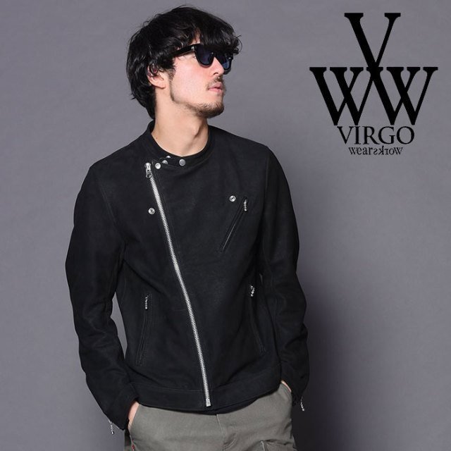 VIRGO(ヴァルゴ) 15TH ANNIVASARY LTD -LOW COLLAR RIDERS JKT 【2018-19HOLIDAY/SPRING新作】 【VG-JKT-199】【レザー ライダー