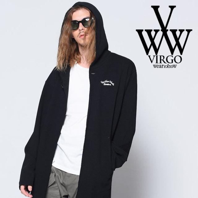 VIRGO(ヴァルゴ) KNIT HOOD COAT NEW 【2018-19HOLIDAY/SPRING先行予約】 【VG-KNIT-77】【キャンセル不可】