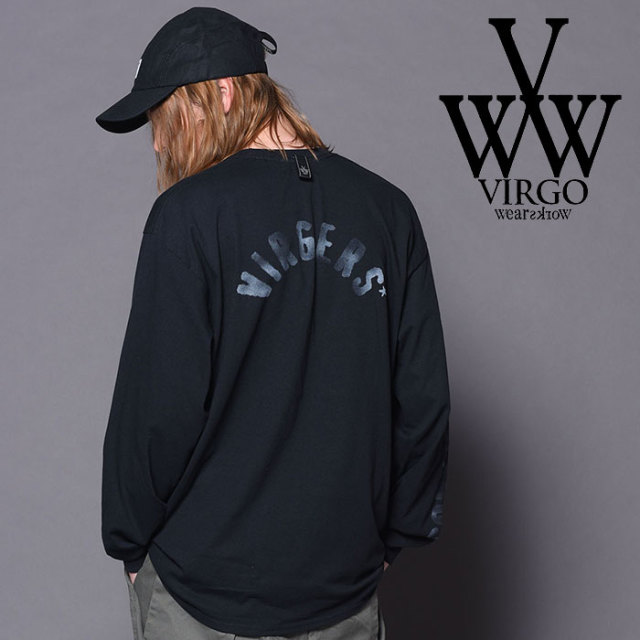 VIRGO ヴァルゴ バルゴ STENCIL 【2018-19HOLIDAY/SPRING先行予約】 【VG-LSPT-57】【キャンセル不可】【カットソー】
