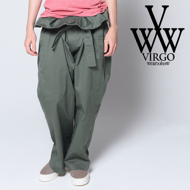 VIRGO ヴァルゴ バルゴ VGW FAT BAND PANTS 【2018-19HOLIDAY/SPRING先行予約】 【VG-PT-212】【キャンセル不可】【パンツ】