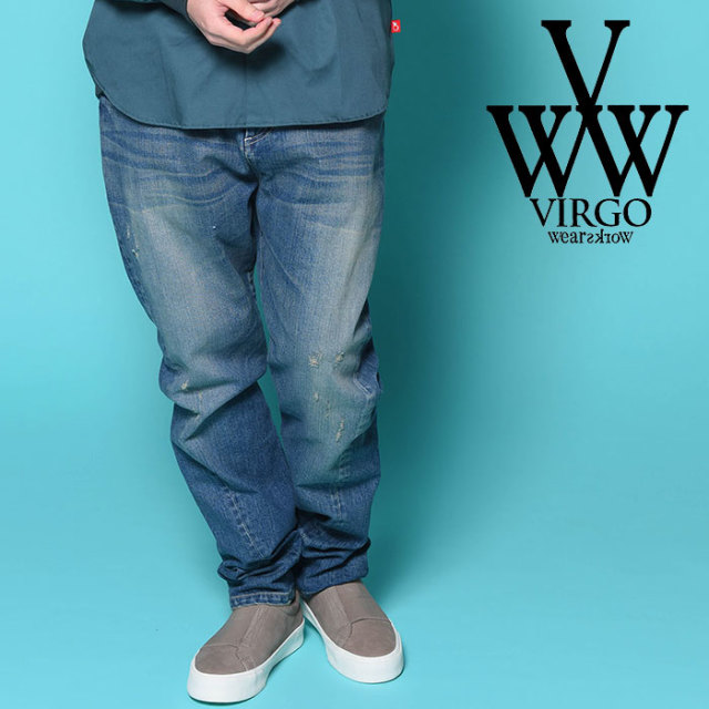 VIRGO ヴァルゴ バルゴ 3D DENIM PANTS VINTAGE  【2018-19HOLIDAY/SPRING先行予約】 【VG-PT-218】【キャンセル不可】【パンツ】
