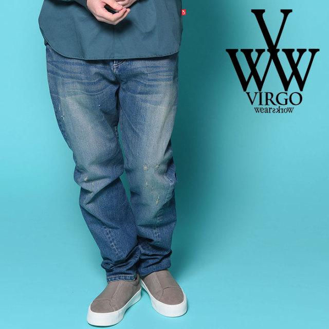 VIRGO ヴァルゴ バルゴ 3D DENIM PANTS VINTAGE  【2018-19HOLIDAY/SPRING新作】 【VG-PT-218】【デニム】【パンツ】