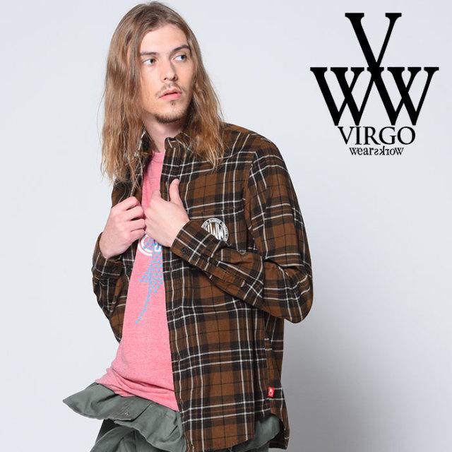 VIRGO(ヴァルゴ) NOSTALGIC CHECK SHIRTS 【2018-19HOLIDAY/SPRING先行予約】 【VG-SH-196】【キャンセル不可】