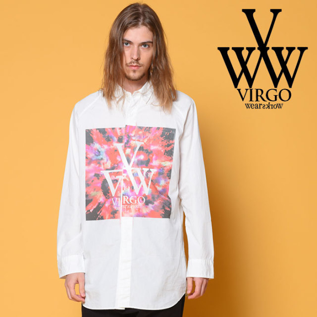 VIRGO(ヴァルゴ) MICROCOSM SHIRTS 【2018-19HOLIDAY/SPRING先行予約】 【VG-SH-199】【キャンセル不可】