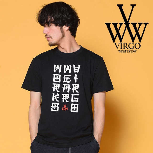 VIRGO ヴァルゴ バルゴ VG KANJI 【2018-19HOLIDAY/SPRING先行予約】 【VG-SSPT-210】【キャンセル不可】【Tシャツ】