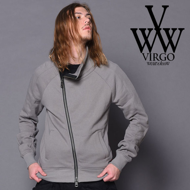 VIRGO ヴァルゴ バルゴ 3D ZIP UP SWEAT 【2018-19HOLIDAY/SPRING先行予約】 【VG-SWT-115】【キャンセル不可】【ジップ スウェッ