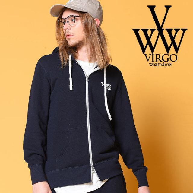 VIRGO ヴァルゴ バルゴ VGW SET UP ZIP HOODIE 【2018-19HOLIDAY/SPRING先行予約】 【VG-SWT-116】【キャンセル不可】【ジップ パ