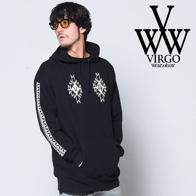 【SALE30%OFF】 VIRGO ヴァルゴ バルゴ LOOSE BIG NATIVE PARKA 【2018-19HOLIDAY/SPRING新作】【送料無料】 【VG-SWT-117】【ジ