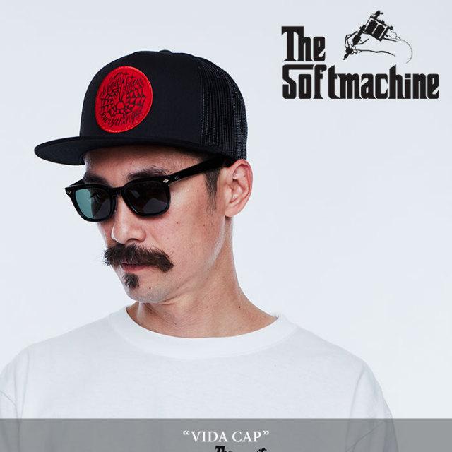 SOFTMACHINE(ソフトマシーン) VIDA CAP(MESH CAP) 【2018SPRING/SUMMER新作】 【キャンセル不可】 【SOFTMACHINE メッシュキャッ