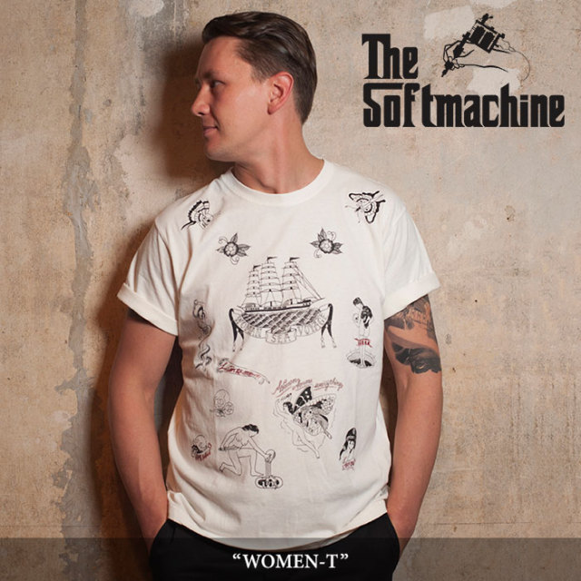 SOFTMACHINE(ソフトマシーン) WOMEN-T (T-SHIRTS) 【2018SPRING/SUMMER新作】 【キャンセル不可】 【SOFTMACHINE Tシャツ】