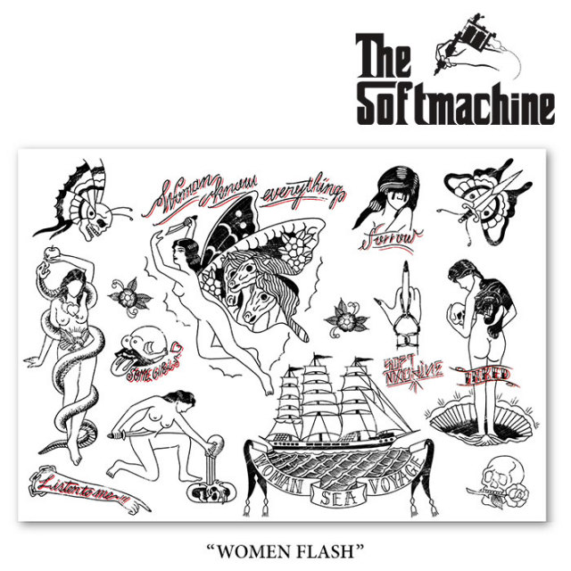 SOFTMACHINE(ソフトマシーン)  WOMEN FLASH(FLASH) 【2018SPRING/SUMMER新作】 【即発送可能】 【SOFTMACHINE ポスター】