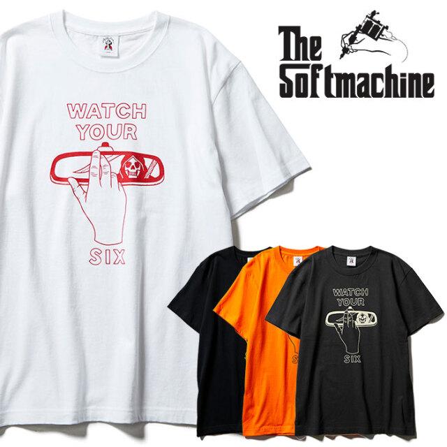 SOFTMACHINE(ソフトマシーン) YOUR SIX-T 【Tシャツ 半袖】【ブラック ホワイト オレンジ タトゥー】【2021 SPRING&SUMMER先行予約