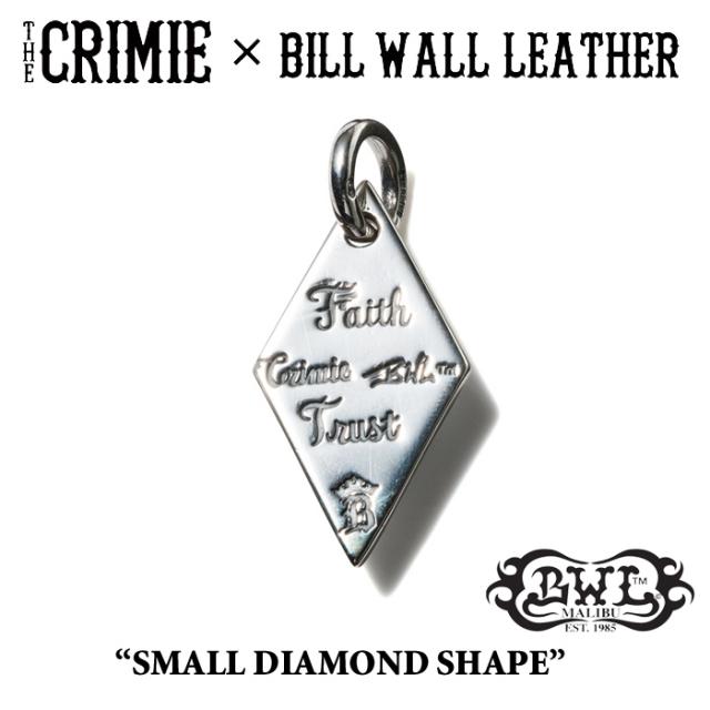 【WINTER予約商品】 CRIMIE(クライミー)×BILL WALL LEATHER SMALL DIAMOND SHAPE 【送料無料】 【キャンセル不可】