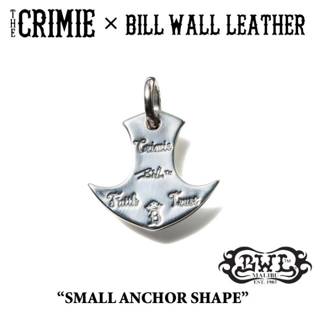 【WINTER予約商品】 CRIMIE(クライミー)×BILL WALL LEATHER SMALL ANCHOR SHAPE 【送料無料】 【キャンセル不可】
