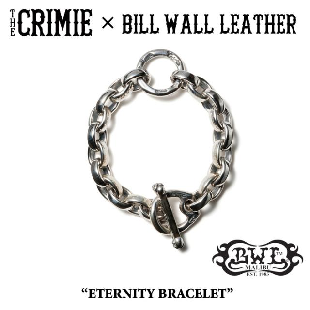 【WINTER予約商品】 CRIMIE(クライミー)×BILL WALL LEATHER ETERNITY BRACELET 【送料無料】 【キャンセル不可】
