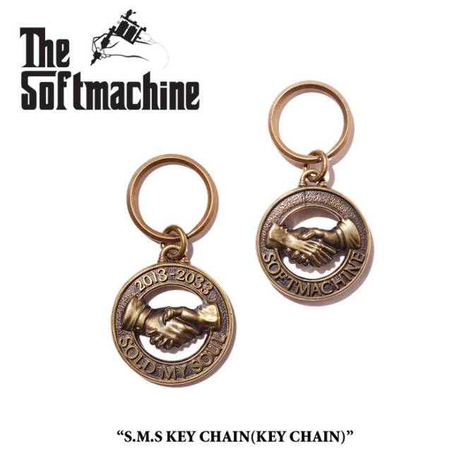 SOFTMACHINE(ソフトマシーン) S.M.S KEY CHAIN(KEY CHAIN) 【先行予約】【キャンセル不可】 【SOFTMACHINE キーチェーン】