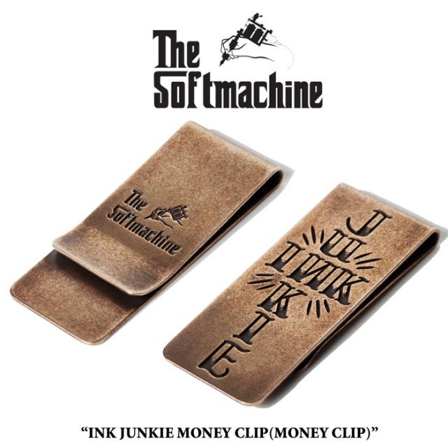 SOFTMACHINE(ソフトマシーン) INK JUNKIE MONEY CLIP 【先行予約】【キャンセル不可】 【マネークリップ】