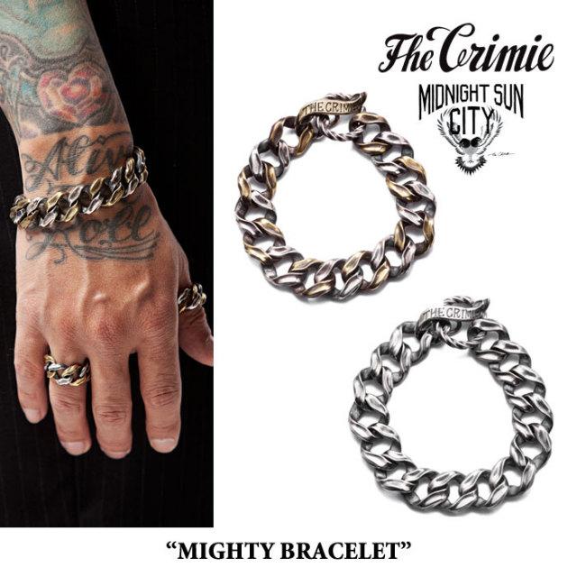 CRIMIE(クライミー) MIGHTY BRACELET 【2017AUTUMN/WINTER先行予約】 【送料無料】【キャンセル不可】 【CRIMIE ブレスレット】