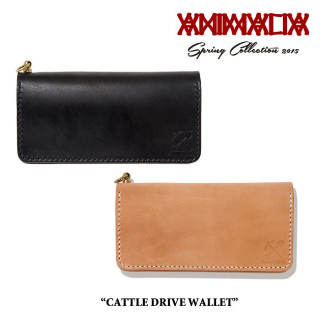 【SALE 50%OFF】 ANIMALIA(アニマリア) CATTLE DRIVE WALLET 【2016SUMMER新作!】 【即発送可能】  【THE CHERRY COKE$】 【AN