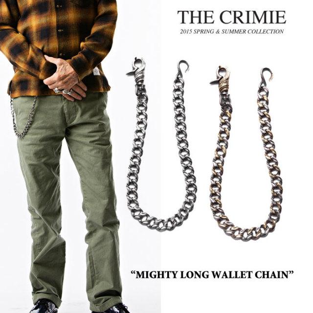 CRIMIE(クライミー) MIGHTY LONG WALLET CHAIN 【2017AUTUMN/WINTER先行予約】 【送料無料】【キャンセル不可】 【CRIMIEウォレ