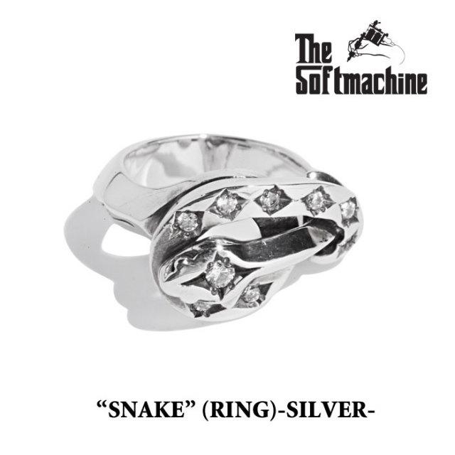 SOFTMACHINE(ソフトマシーン) SNAKE(925SV+CZ) 【2019SPRING&SUMMER先行予約】【キャンセル不可】 【SOFTMACHINE リング】