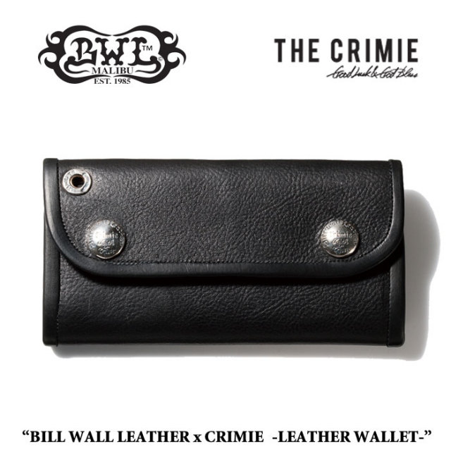 CRIMIE(クライミー) LEATHER WALLET 【送料無料】【即発送可能】 【BILL WALL LEATHER USA】 【CRIMIE 財布】 【CRIMIE 冬】【C