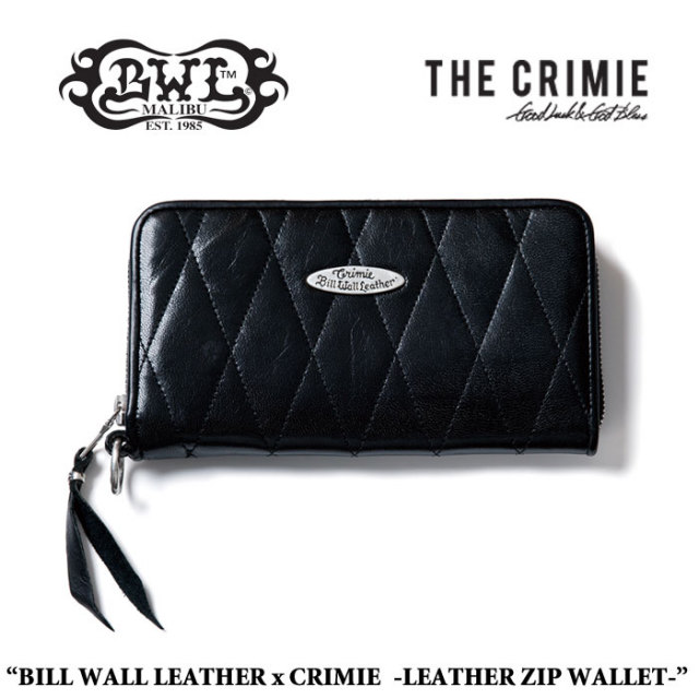 CRIMIE(クライミー) LONG ZIPPER WALLET 【送料無料】【即発送可能】 【BILL WALL LEATHER USA】 【CRBW-W01C-1E7】 【CRIMIE